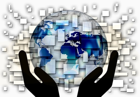 Globalization and Internet: Information, People and Goods